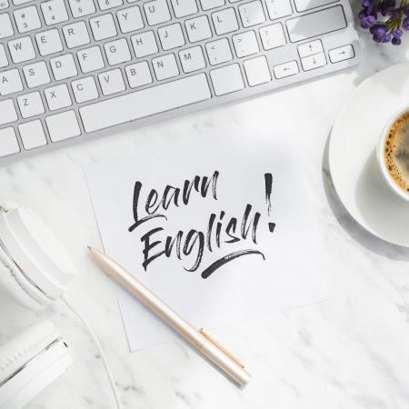 "English conversation course "" Intermediate level "" and "" Intermediate plus """